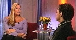 Christine van der Horst op zoek naar tv-talent, 2000.